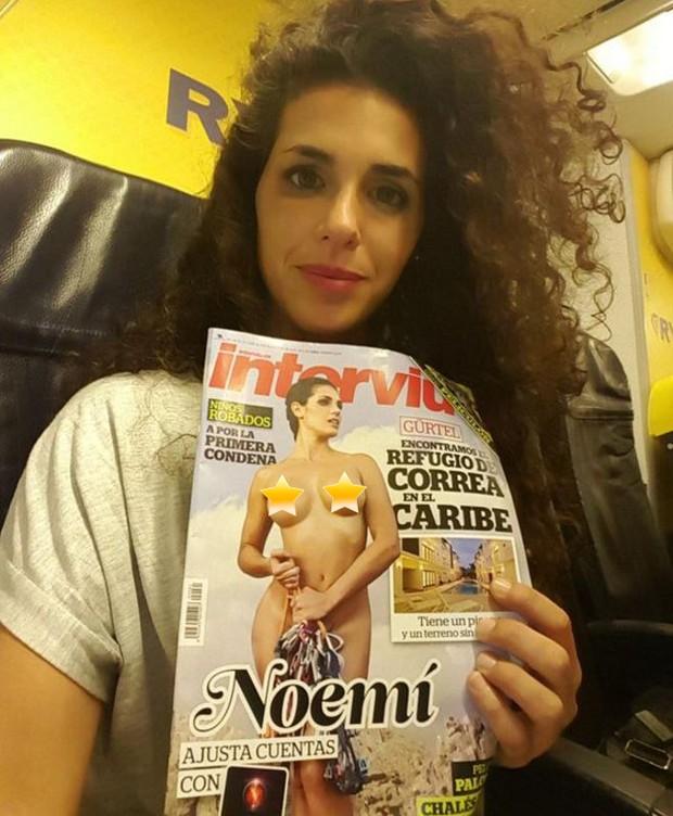 Noemí Merino na revista Interviú (Foto: Divulgação / Revista Interviú)