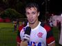 """Damião destaca tranquilidade do Fla em virada: """"Ninguém se assustou"""""""