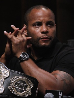 Daniel Cormier - campeão meio-pesado UFC (Foto: Evelyn Rodrigues)