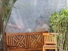 Maria Casadevall  e Caio Castro almoçam em restaurante no Rio
