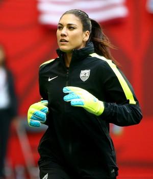 Hope Solo, Estados Unidos x Japão, Mundial feminino (Foto: Getty Images)
