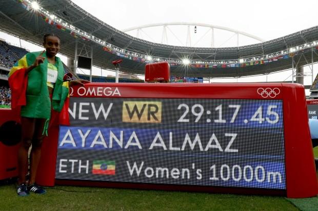 Almaz Ayana (Foto: Ian Walton/GettyImages)