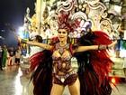 Thaila Ayala causa na Sapucaí e admite: 'Estou me sentindo nua'