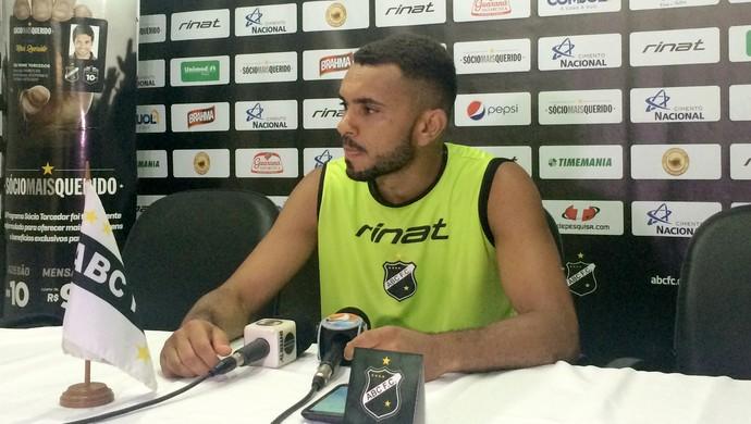 ABC - Túlio Renan, atacante (Foto: Luiz Henrique/GloboEsporte.com)