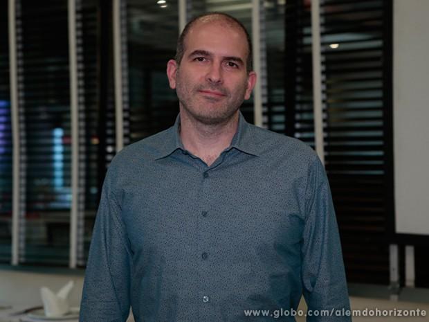 Marcos Bernstein, um dos autores de Além do Horizonte (Foto: Felipe Monteiro / TV Globo)