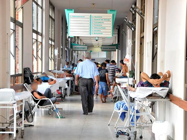 Vistoria foi realizada pela Defensoria o Hospital Geral de Palmas (Foto: Loise Maria/Defensoria)