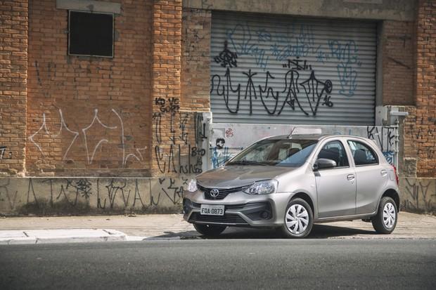Toyota Etios  (Foto: Fabio Aro/Autoesporte)