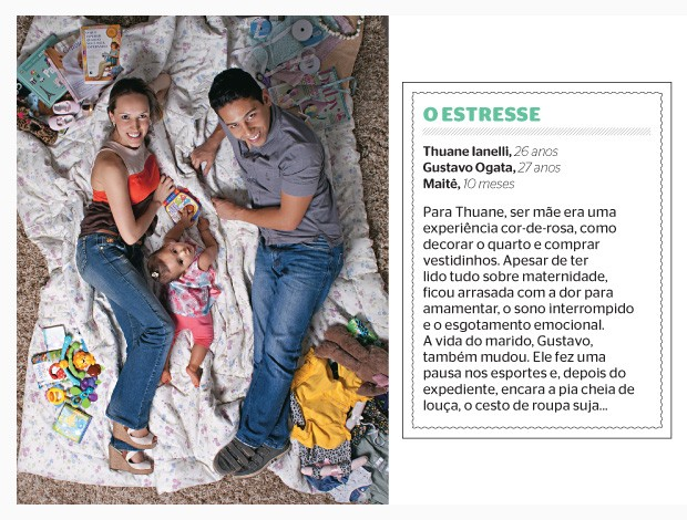 O estresse (Foto: Camila Fontana/ÉPOCA)