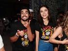 Caio Castro vai ao Lollapalooza com Maria Casadevall: 'Acabei de acordar'