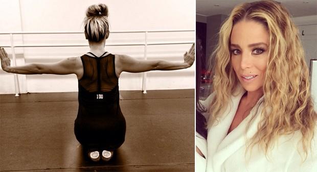 Bal fitness ajuda a manter o corpo de Dani Winits para o vero. (Foto: Reproduo Instagram)