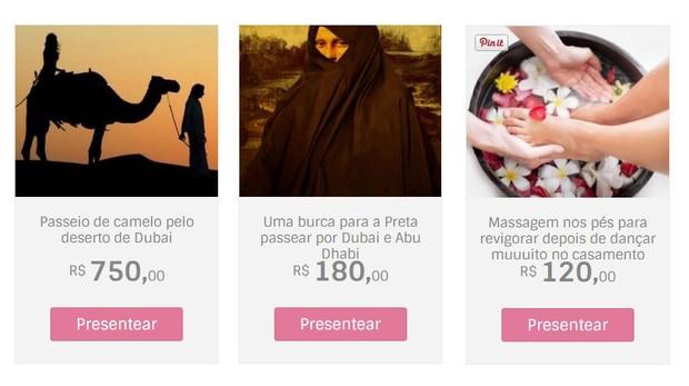 Presentes Preta (Foto: Reprodução )