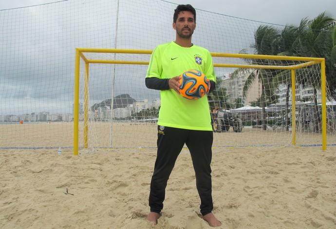 Jorginho seleção brasileira futebol de areia (Foto: Flávio Dilascio)