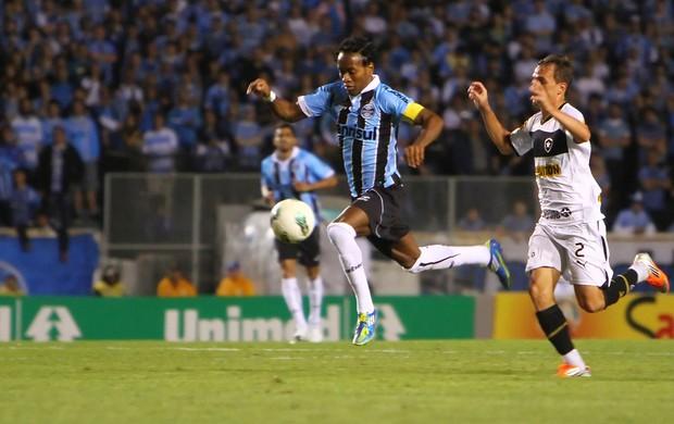 Zé Roberto contra o Botafogo (Foto: Lucas Uebel/Divulgação, Grêmio)