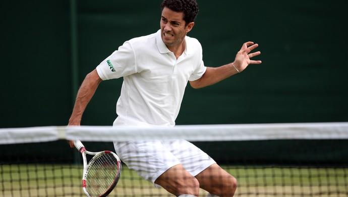 André Sá na chave de duplas em Wimbledon (Foto: Getty Images)