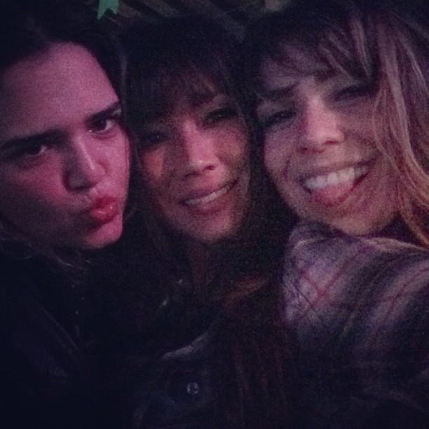 Daniele Suzuki com amigas em festa julina no Rio (Foto: Instagram/ Reprodução)