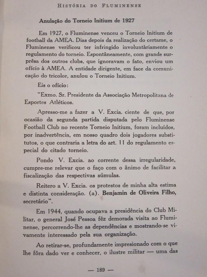 fluminense 1927 erro (Foto: Reprodução )