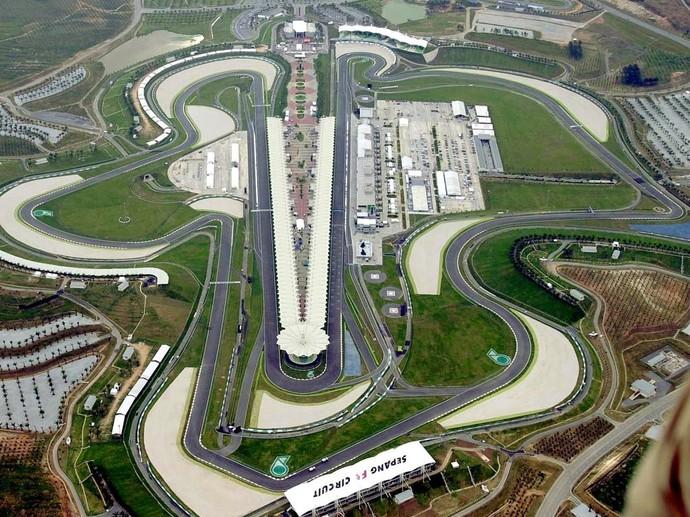 Circuito Internacional de Sepang, palco do GP da Malásia (Foto: Divulgação)