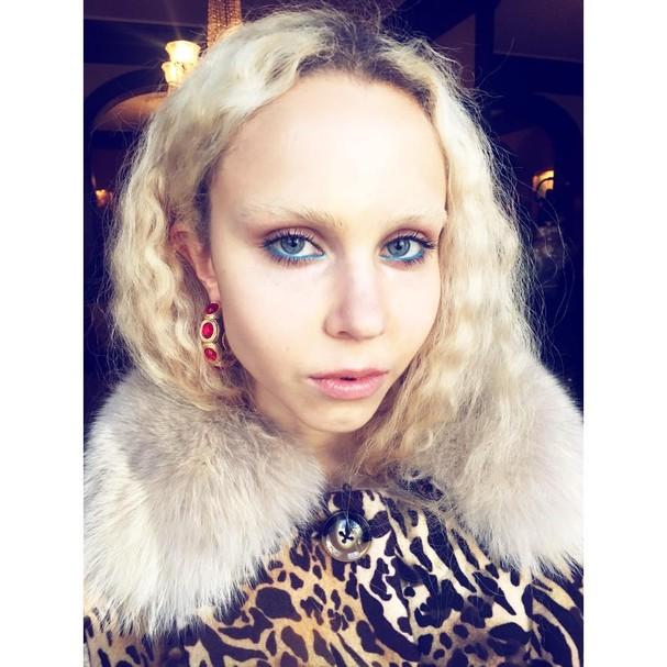 Saks Potts (Foto: Reprodução Instagram  @makeupbyzeniajaeger)