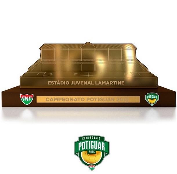 Troféu do Campeonato Potiguar homenageia Estádio Juvenal Lamartine