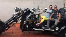 Que tal uma 'voltinha' bem radical pelas ruas de Paranavaí? (Divulgação/RPC)