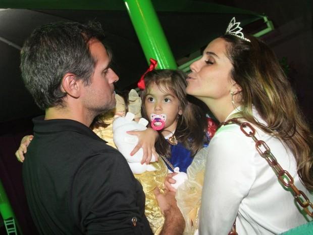 Aniversário das filhas de Giovanna Antonelli (Foto: Anderson Borde/AgNews)