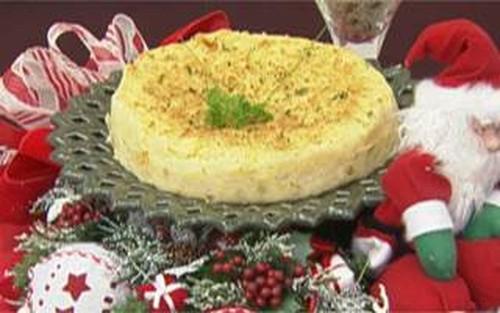 Torta de Grão de Bico e Arroz de Champanhe