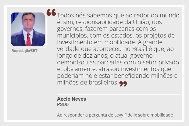 Aécio Neves - debate - 2 (Foto: Reprodução)