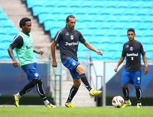 Barcos treina pelo Grêmio (Foto: Lucas Uebel/Divulgação, Grêmio)