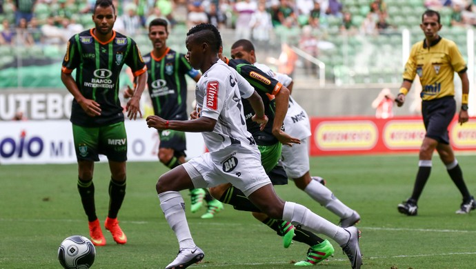 Cazares; Atlético-MG (Foto: Bruno Cantini/Atlético MG)