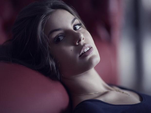 Camila Queiroz começou a carreira de modelo aos 14 anos (Foto: Paulo Vainer/TV Globo)