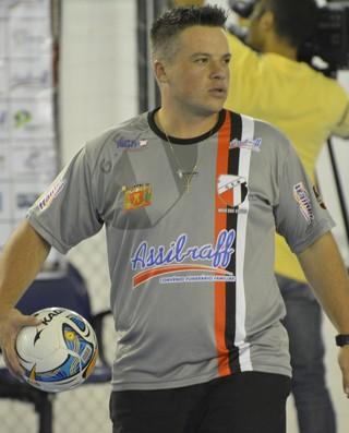 Juliano Martins Jabá Grêmio Mogiano futsal (Foto: Cairo Barros)
