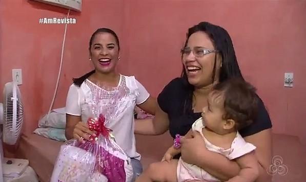 """Quadro """"Tô chegando"""" faz homenagem ao Dia das Mães (Foto: Amazônia Revista)"""