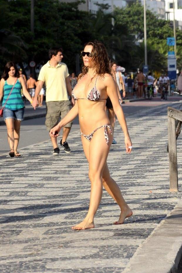 Rita Guedes no Rio (Foto: J.Humberto/AgNews)