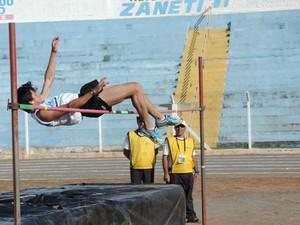 Provas de atletismo foram realizadas nesta sexta-feira (20) (Foto: João Paulo Tilio / Globoesporte.com)