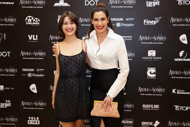 Luisa Arraes e a mãe, Virgínia Cavendish (Foto: Manuela Scarpa/Brazil News)