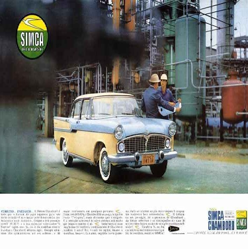 Simca - anúncio Brasil (Foto: Arquivo)