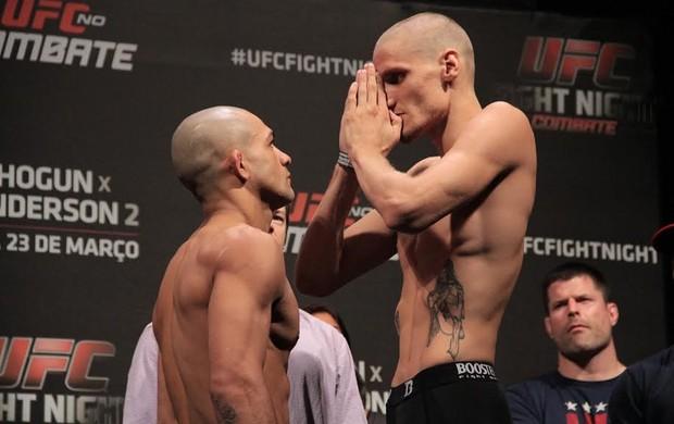 Diego Brandão  x Will Chope MMA UFC (Foto: Rodrigo Malinverni)