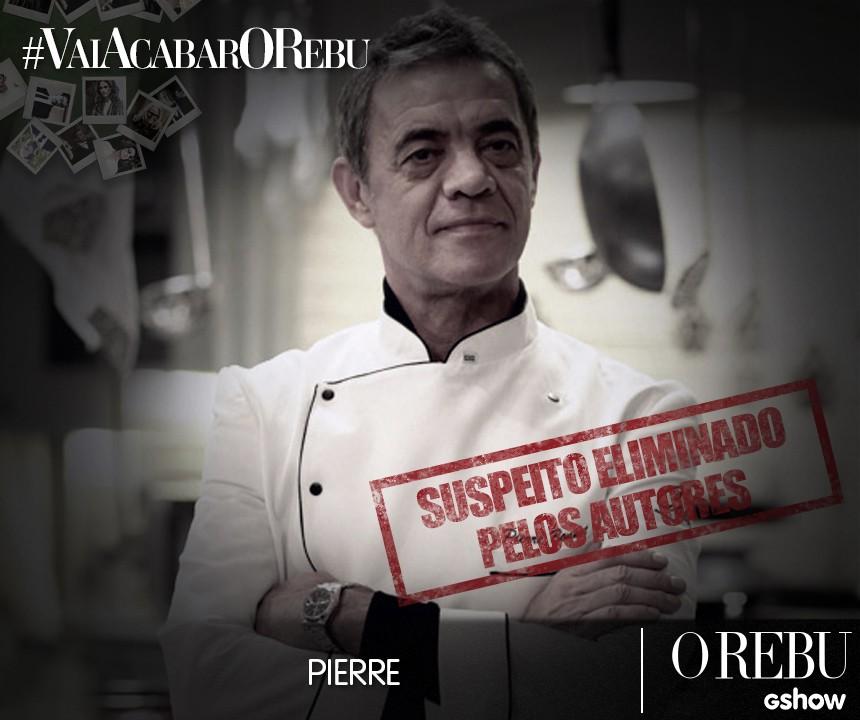 Suspeito Pierre (Foto: O Rebu/Tv Globo)