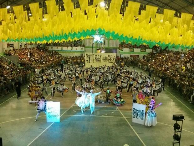 Festival de quadrilhas juninas terá  final nesta quarta-feira em Natal (Foto: Cinthia Macedo/G1)