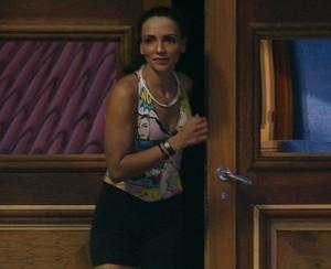 Marinalva foi a antepenúltima participante a deixar a prova. A liderança ficou com Emilly (Foto: reprodução/Globo)