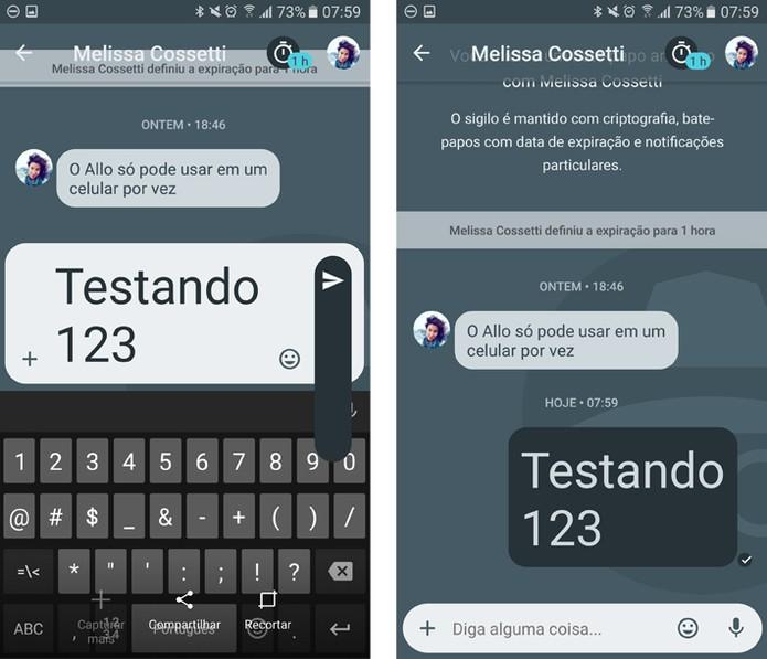 Uma das novidades é a possibilidade de mudar o tamanho do texto (Foto: Reprodução/Thássius Veloso)