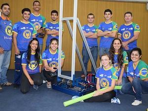 Equipe Cephatron conquista prêmios em competição nos EUA (Foto: Divulgação)