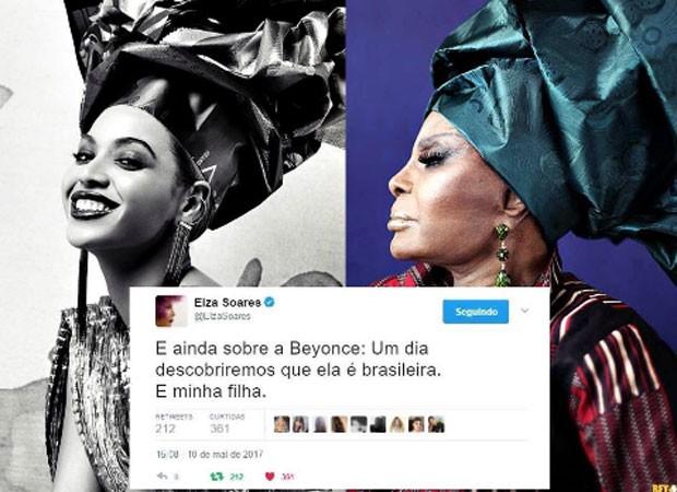 Elza Soares se compara a Beyoncé (Foto: Reprodução)