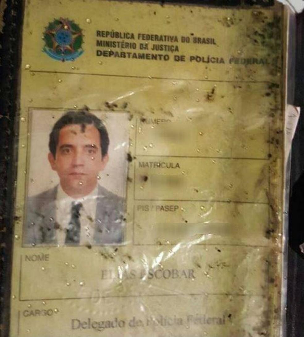 Elias Escobar foi um dos delegados mortos em Florianópolis (Foto: Arquivo pessoal)
