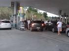 Grupo de AL protesta contra preço da gasolina e abastece com R$ 0,50