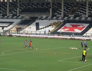 Treino do Vasco (Foto: Fred Huber / Globoesporte.com)
