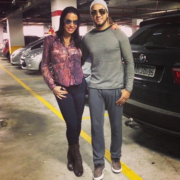 Gracyanne Barbosa e Belo (Foto: Instagram / Reprodução)