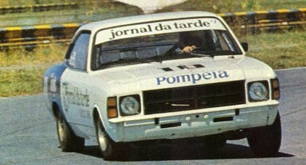 Ingo Hoffmann na 1ª temporada da Stock Car em 1979 (Foto: Divulgação)