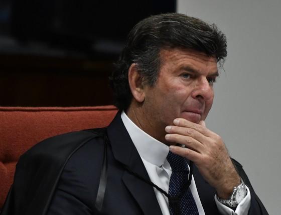 Luiz Fux  (Foto: MATEUS BONOMI/AGIF/ESTADÃO CONTEÚDO)