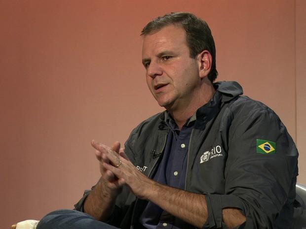 Eduardo Paes (Gnews) (Foto: Reprodução GloboNews)